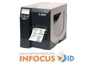 Zebra ZM400 Heavy Duty 200dpi Label/Barcode Printer - USB & Ethernet/Network