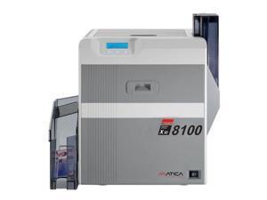 Matica XID 8100 Simplex Retransfer Card Printer with Starter Pack