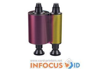Evolis Compatible Generic (YMCKO) Ribbon R3011: Evolis Pebble & Dualys
