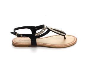 SUNNY DAY GLINT-5 WOMEN'S  CLASSIC T-STRAPS Sandals & Flip-Flops