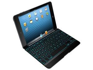 ZAGG Cover Backlit Bluetooth Keyboard Black for iPad Mini 2/3 Retina Zaggkeys