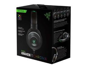 Razer Kraken 7.1 Chroma Surround Sound USB Gaming Headset with Microphone New