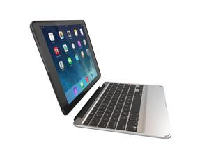 Zagg Slim Book W/ Backlit Bluetooth Keyboard & Detachable Case For iPad Air 2