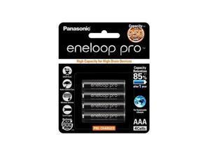 4 Pack AAA Panasonic Eneloop Pro 950mAh High Capacity Rechargeable Batteries