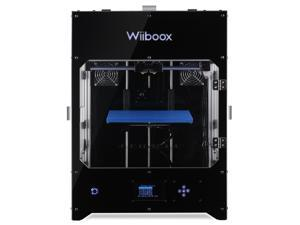 "Wiiboox Company Pro 300 Desktop 3D Printer, Dual Extruders, 80 Microns, 11.8""x11.8""x11.8"" Build Size, 1 Particle Filtration Module, Metal Frame Structure"
