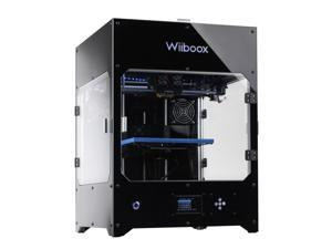 """Wiiboox Company Pro Desktop 3D Printer, Dual Extruders, 80 Microns, 10.2""""x8.2""""x7.8"""" Build Size w/ Heating Plate, 2 Particle Filtration Modules, Metal Frame Structure"""