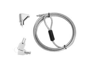 CSP Guardian Series Laptop Security Cable Lock - Master Access - Master Keyed Lock - Galvanized Steel - 6ft