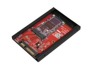 "Addonics AD25MSD Drive Enclosure - 1 x Total Bay - 1 x 2.5"" Bay - Serial ATA"