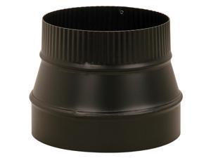 Reduc Pp Stv 6X4In 24Ga Blk Imperial Stove Pipe Fittings - Black BM0074/6X4-611
