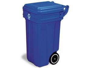 Continental Commercial 5850-1BLUE Recycle Container