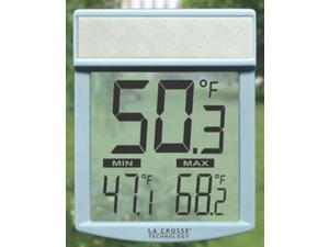 La Crosse Technology WT-62U-TBP Window Thermometer