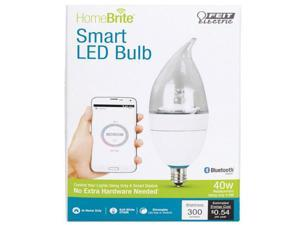40W Equivalent 3000K B10 Dimmable Homebrite Led Light Bulb, Warm White