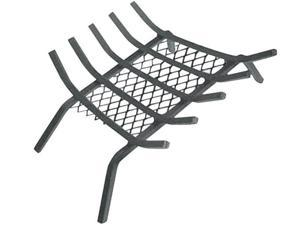 """Homebasix LTFG-W23 Fireplace Grate With Ember Retainer, 23"""""""