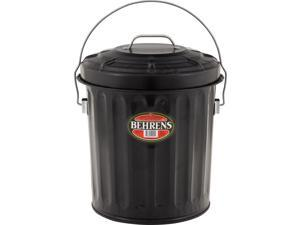 Behrens B907P Black Ash Pail, 7-1/2 Gallon