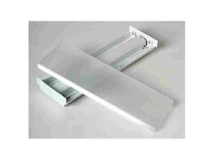 Lithonia Lighting 137FCU Fluorescent Wraparound Box Light Fixture, 120 Volts