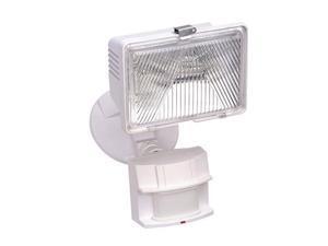 Sl-5525-Wh 250-Watt Quartz Motion-Sensing Light, White Heathco Lighting