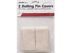 Fox Run 4175 Rolling Pin Covers, Cotton