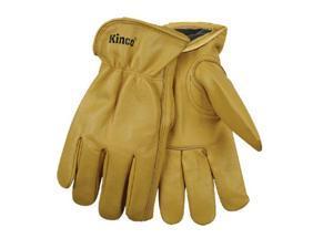 Lg Mens Line Cow Glove 98Rl L Lined Leather Gloves Kinco Gloves 98RL-L