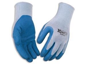 Coated Blue Latex Palm Gripping - Med - Work Gloves Kinco Gloves 1791-M