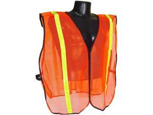 "Radians SV01 Non Rated Safety Vest With 1"" Tape, S/XL"