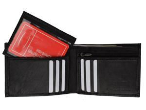 Fashion Men's Genuine Leather Bi-fold