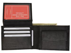 Genuine Leather Bi-fold Men's Wallet