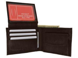 Genuine Leather Bi-fold Men's Wallet