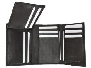 Men's Genuine Leather Tri-fold
