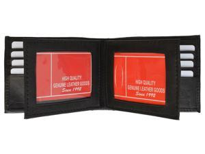 Men's Genuine Leather Bi-fold