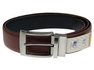 Reversible Soft Leather Belt - Size Medium