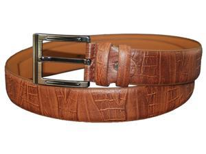 Casual Brown Leather Belt - Size Large