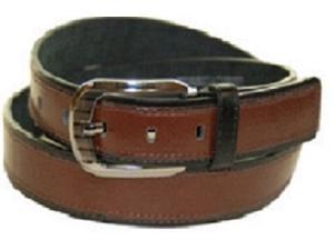 Mens Smooth Leather Dress Belt - Size Small
