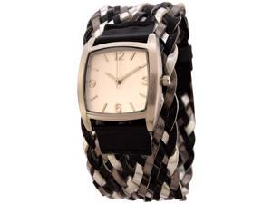 FMD Ladies Braided 3-Hand Analog by Fossil
