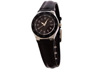 FMD Ladies Standard 3-Hand Analog Black Silicone Watch by Fossil