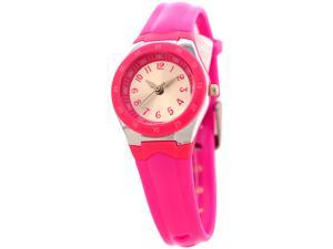 FMD Ladies Standard 3-Hand Analog Pink Silicone Watch by Fossil