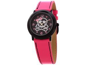 FMD Ladies Skull and Crossbone Design Standard 3 Hand Analog Watch by Fossil