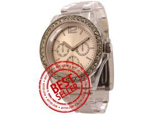 FMD Womens Fashion Watch with Crystal Accents by Fossil