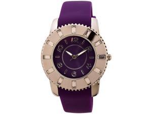 FMD Ladies Silicon Watch with Crystal Accents by Fossil