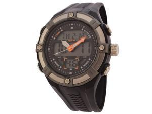 FMD Mens Black Plastic Watch by Fossil
