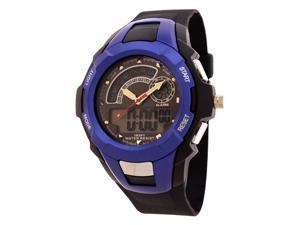 FMD Men's Black Watch with Blue Face by Fossil