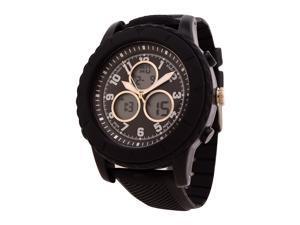 FMD Men's Black Analog/Digital Watch by Fossil