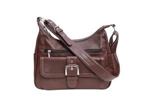 Fashion Buckle Leather Handbag
