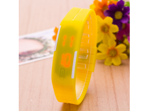 Europe And The United States Fashionable Silicone Children Watch