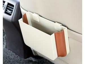 Car Chair-back Folding Trash Can 25*16*3cm ABS + TPE 2 Colors Automotive Folding Bucket/Garbage Can & Storage Box