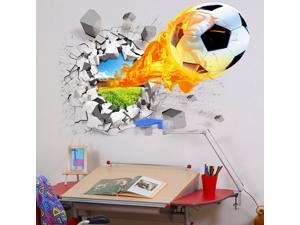 Classic 3D Wall Stickers 70*50CM Lifelike Shape PVC Stickers TV Background  Reusable & Waterproof 3D Wall Stickers
