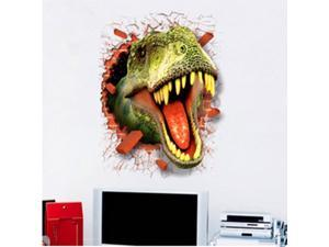 High Quality 3D Wall Stickers 70*50CM Lifelike Shape PVC Stickers TV Background  Reusable & Waterproof 3D Wall Stickers