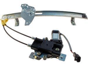NEW Door Power Window Regulator & Motor Rear Left Driver Dorman 741-710
