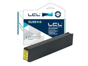 LCL Compatible for HP 971XL(1-Pack Yellow) Ink Cartridge for HP Officejet Pro X451dn Printer/X451dw Printer/X551dw
