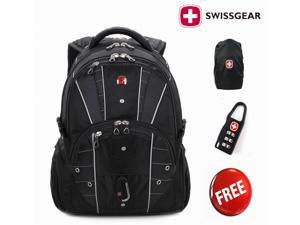 Swiss Gear Waterproof Multifunctional Men Travel backpack Knapsack,rucksack Hiking Bags school students bag business backpacks for 17 inch computer laptop macbook - SwissGear