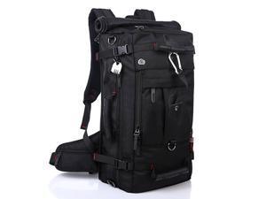 KAKA Backpack for 17 inch Laptops Multifunctional Travel Luggage Backpacks Camping Hiking Rucksack 40L